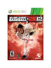 Major League Baseball 2K12 (Microsoft Xbox 360, 2012)