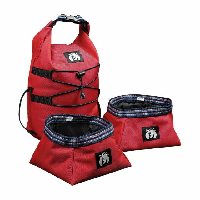 Collapsible Dog Dishes Bowls Travel Camping Pet Food Water Bowl Portable Hiking