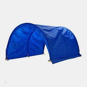 IKEA-Kids-Children-039-s-Bed-Canopy-Tent-Blue-Sky-Stars-NEW