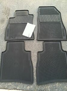 New Oem 2013 Nissan Sentra All Weather Floor Mats Set Of