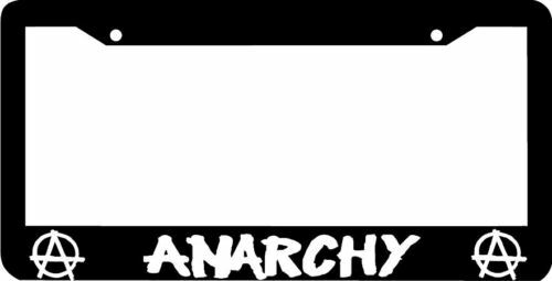 ANARCHY License Plate Frame