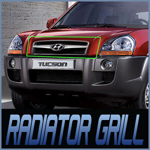 Front-Radiator-Hood-Grill-Assembly-For-05-06-07-08-09-Hyundai-Tucson