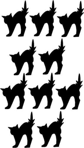 3M Scotchlite  Black Scaredy Cats Reflective Stickers