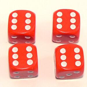Set-of-Four-Orange-Dice-Dust-Caps-X4-80-039-s-Retro-Valve-Caps-BMX-VW