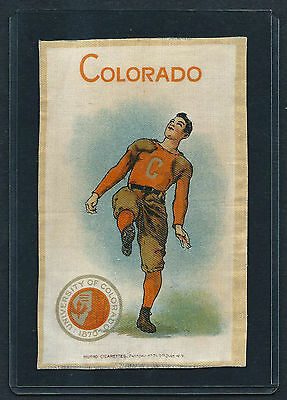 S22 SMALL MURAD TOBACCO SILK COLORADO FOOTBALL