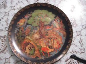 1989-Bradex-Tianex-Russian-Legends-Collectible-Plate