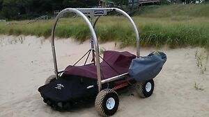 Beach Rover Motorized PWC Lift - Better than a jet ski ...