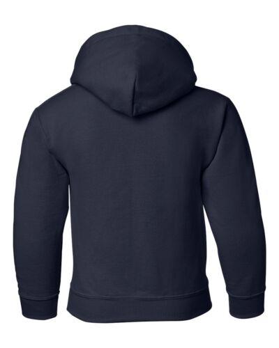 Gildan YOUTH Heavy Blend Hooded Sweatshirt 18500B S-XL Hoodie Cotton//Polyester