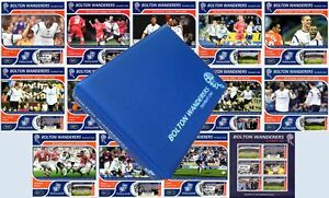 2001-02-BOLTON-WANDERERS-Football-Club-Stamp-Album-amp-Victory-Card-Maxi-Covers