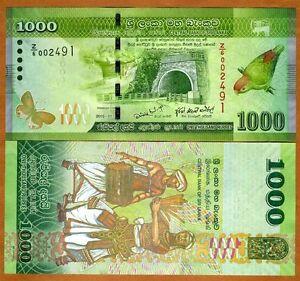 Sri-Lanka-1000-Rupees-2010-P-127-UNC-Rare-Replacement