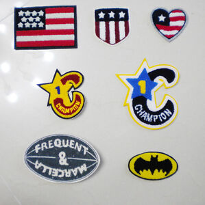 letter jacket patches new chenille alphabet america patch for varsity letterman 22892 | s l300