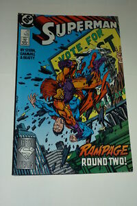 SUPERMAN-2nd-Series-No-24-12-1988-DC-Comics