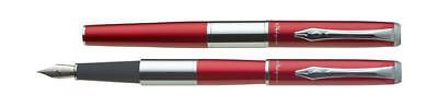 PLATIGNUM FOUNTAIN PEN RED NO.2-MED-UNIVERSAL REFILL