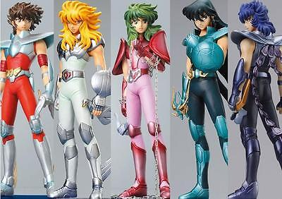 SAINT SEIYA AGALMA AGARUMA TRADING FIGURE NEW BRONZE COLLECTION SET