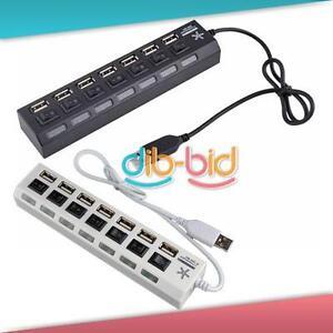 7-Port-ON-OFF-Switch-USB-2-0-HUB-Hi-Speed-Laptop-PC-26-ER