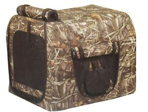 1093-Medium-Insulated-Realtree-Camo-Camouflage-Dog-Crate-Carrier-Cover-27x20x20