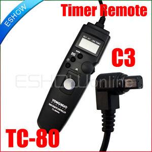 YONGNUO-TC-80-C3-Timer-Remote-Shutter-For-Canon-50D-40D-30D-20D-10D-1D-5D-1DS