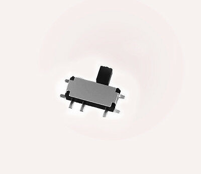 50pcs 2.7 x 6.7mm 7 pins Miniature Micro Tact Slide Switch SMD On/Off