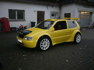 gfk lampenbaum vw polo 6n rallye motorsport tuning ebay. Black Bedroom Furniture Sets. Home Design Ideas