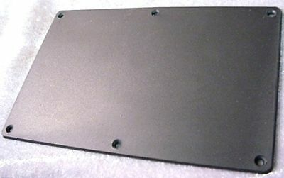 BLACK BACK PLATE FOR ELECTRIC GUITAR