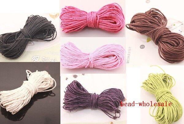 10 Meters Corduroy Cord String Thread For  DIY Bracelet Necklace Making 1.0mm