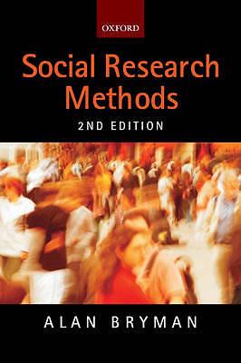(Good)-Social Research Methods (Paperback)-Alan Bryman-0199264465