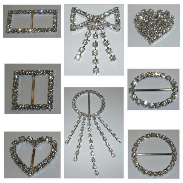 BUCKLE DIAMONTE DIAMANTE ASSTD SHAPES & SIZES