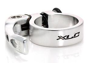XLC-Anello-fissaggio-supporto-sella-con-rilascio-veloce-argento-31-8-mm