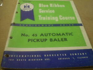 IH-INTERNATIONAL-no-45-AUTOMATIC-PICKUP-BALER-SERVICE-MANUAL