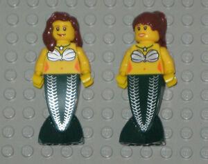 Lego-Mermaid-MINIFIGURES-Women-Lady-Females-Girls-2-Lego-Mermaids-Minifigs-Toys