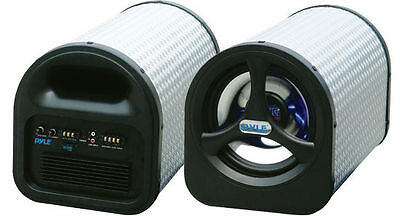 "NEW 8"" Pioneer Shallow Depth Subwoofer Speaker Box Bass System.Behind Truck Seat"