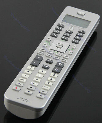 Universal 10in1 Learn Function LCD Display Remote Control For AMP TV DVD CD CBL