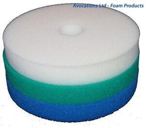 HOZELOCK-BIOFORCE-9000-Pond-Sponge-Foam-Filter-Set-x-2