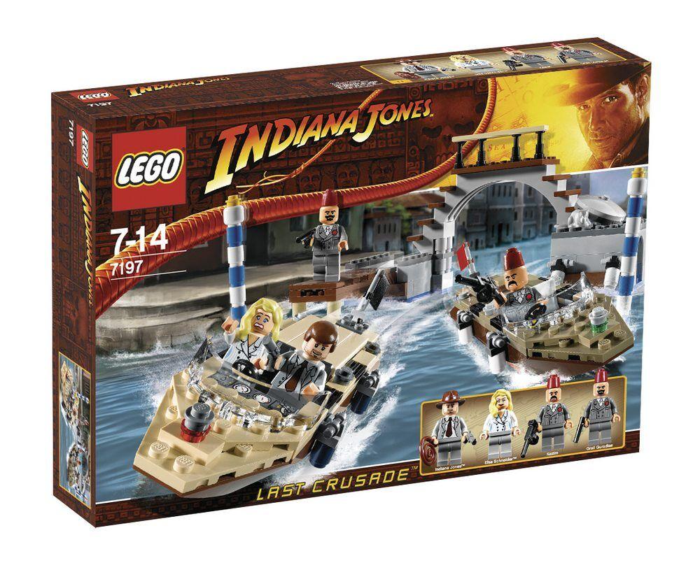 LEGO 7197 INDIANA JONES VERFOLGUNGSJAGD IN VENEDIG NEU+OVP