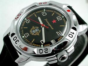 RUSSIAN-MILITARY-VOSTOK-BLACK-WATCH-2121-NEW