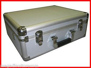 Multi-Purpose-Aluminum-Camera-Carry-Case-Tool-and-Equipment-Silver-CANADA-n-USA