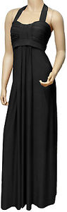 New-Elegant-Long-Evening-Maxi-Dress-Black-LR1009-UK-Size-8-18