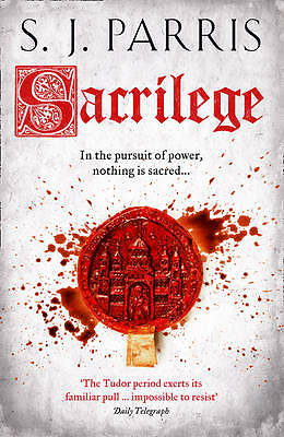 """AS NEW"" Parris, S. J., Sacrilege (Giordano Bruno 3), Hardcover Book"