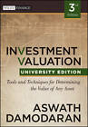 Investment Valuation: Tools and Techniques for Determining the Value of Any Asset by Aswath Damodaran (Paperback, 2012)