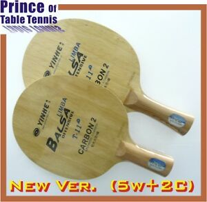 New-Galaxy-T-11plus-T-11-Table-Tennis-Blade-5wood-2carbon