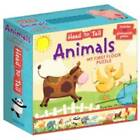 Head ToTail My First Floor Puzzle - Animals by Illustrated By Anna Jones (Hardback, 2012)