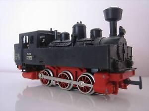 MARKLIN-H0-Locomotora-de-Vapor-Negro