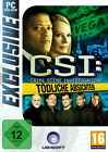 CSI - Crime Scene Investigation: Tödliche Absichten (PC, 2011, DVD-Box)