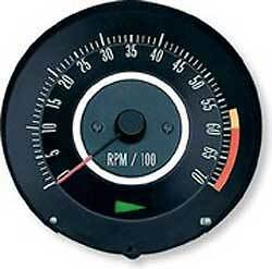 1967 67 CAMARO Z28 OR 396 TACHOMETER GM AUTHORIZED PART