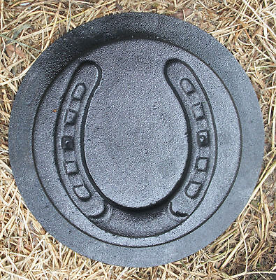 gostatue horseshoe stepping stone plastic mold concrete mold plaster mold