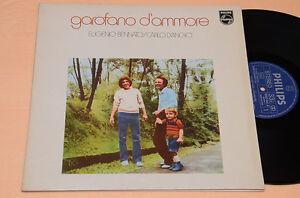 EUGENIO-BENNATO-CARLO-D-039-ANGIO-039-LP-GAROFANO-D-039-AMMORE-1-ST-ITALY-PROG-1976-NM