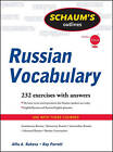 Schaum's Outline of Russian Vocabulary by Ray J. Parrott, Alfia A. Rakova (Paperback, 2011)