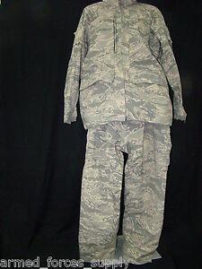 USGI MILITARY ABU USAF AIR FORCE GORE-TEX PARKA COAT ECWCS TIGER STRIP DIGITAL