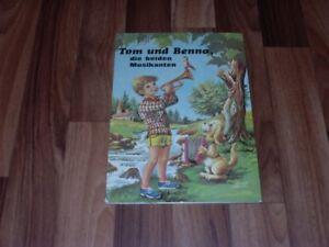 Bosch -- TOM und BENNO die MUSIKANTEN // Bilderbuch von Hemma ca 1970er - Mühlacker, Deutschland - Bosch -- TOM und BENNO die MUSIKANTEN // Bilderbuch von Hemma ca 1970er - Mühlacker, Deutschland