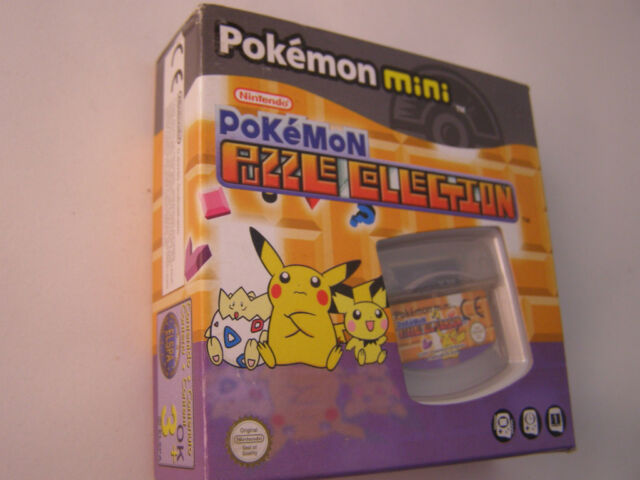 Nintendo Pokemon mini - Pokemon Puzzle Collection - NEU u OVP